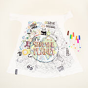 Color Your Own Climate Warrior Cape