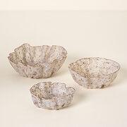 Dried Lavender Trinket Bowls - Set Of 3