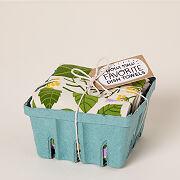 Flowering Herb Kitchen Towels - Set Of 3