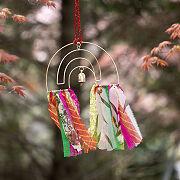 Repurposed Sari Rainbow Chime