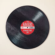 Personalized Record Cutting Board