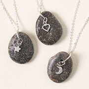 Pebble Charm Necklace