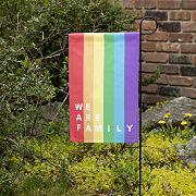 We Are Family Garden Flag