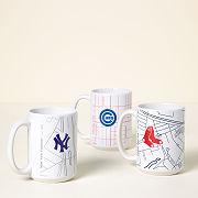 Baseball Park Map Mug