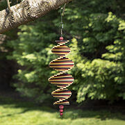 Hanging Wooden Wind Spinner