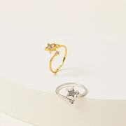 Shooting Star Raw Diamond Ring