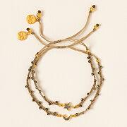 Raw Diamond Celestial Charm Bracelet