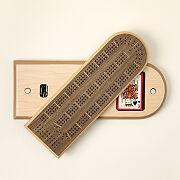 Swivel & Store Cribbage Board