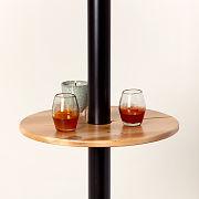 Patio Heater Bar Table