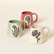 Birth Flower Mugs