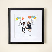 Love Is In The Air Custom Portrait