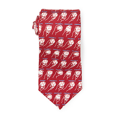 BASEBALL PITCHES TIE