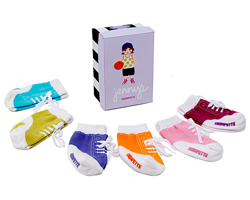 JENNY INFANT SOCKS - SET OF 6