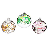 Glass Birthstone Globes