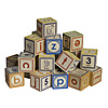 Lowercase Alphabet Blocks