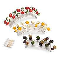 Rainbow Hors D'oeuvres Set