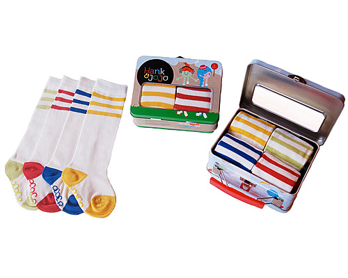 BABY TUBE SOCKS - SET OF 4