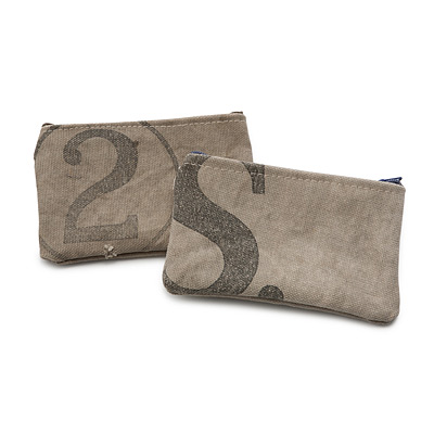 UPCYCLED MAIL SACK POUCH