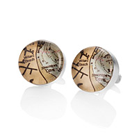 CUSTOM MAP CUFFLINKS