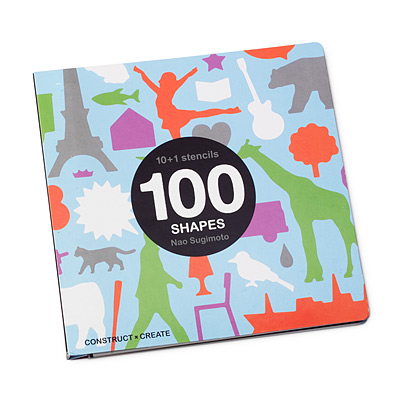 100 SHAPES STENCIL BOOK
