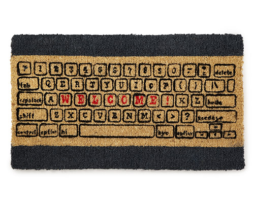 COMPUTER KEYBOARD DOORMAT
