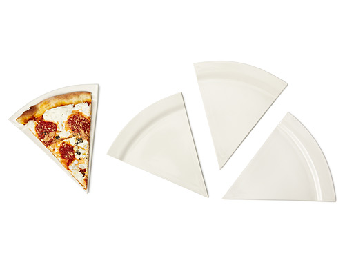 PIZZA PLATES - SET OF 4