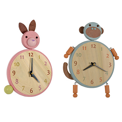 ANIMAL CLOCKS