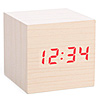 Cube LED Alarm Clock