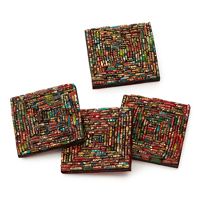 BANGLE COASTERS - SET OF 4