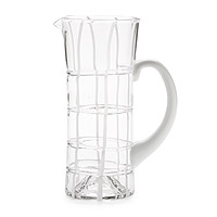 TWIDDLE WHITE PITCHER