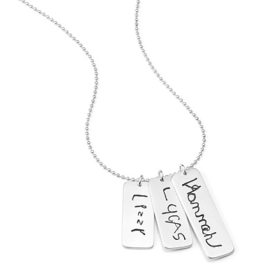 PERSONALIZED CHILD SIGNATURE NECKLACE