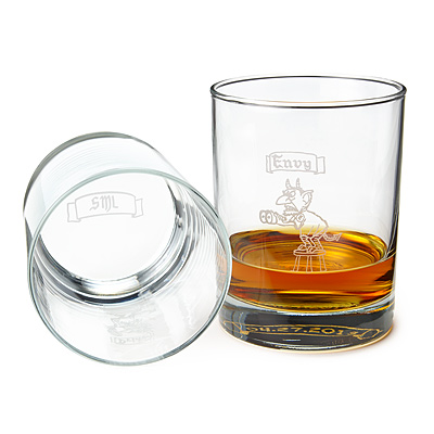 PERSONALIZED 7 DEADLY SINS GLASSES - SET OF 7