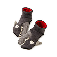 Toddler Shark Slippers