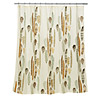 Floating Feathers Shower Curtain