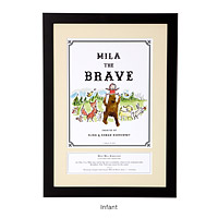 PERSONALIZED STORYBOOK ART - BRAVE