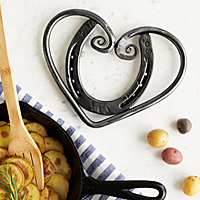 Horseshoe Heart Trivet