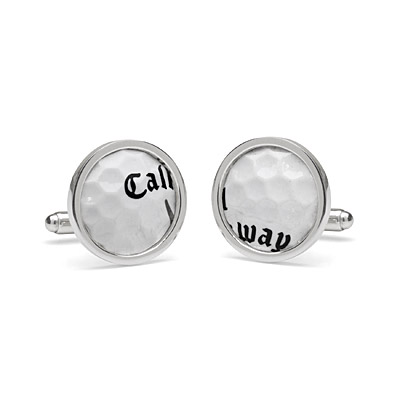 TPC SAWGRASS GOLF BALL CUFFLINKS
