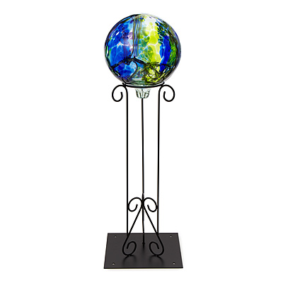 GAZING BALL WITH STAND