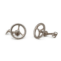 Bicycle Chain Ring Cufflinks