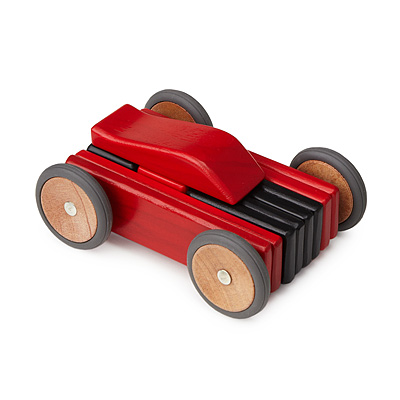 MAGNETIC WOODEN CAR SET