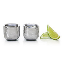 Stainless Steel Shot Glasses - Set of 2