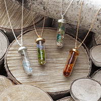 SEASONS TERRARIUM NECKLACES