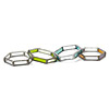 Hexagon Stained Glass Bracelets