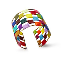 Threaded Spectrum Cuff