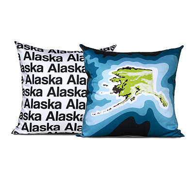 TOPOGRAPHICAL MAP PILLOWS