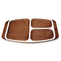 WOODEN TV DINNER TRAY