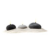 Beach Rock Candles - Set of 3