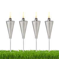 Mini Garden Torches - Set of 4
