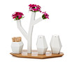 Tree Vase Salt and Pepper Shaker Tray
