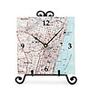 Custom Nautical Map Clock